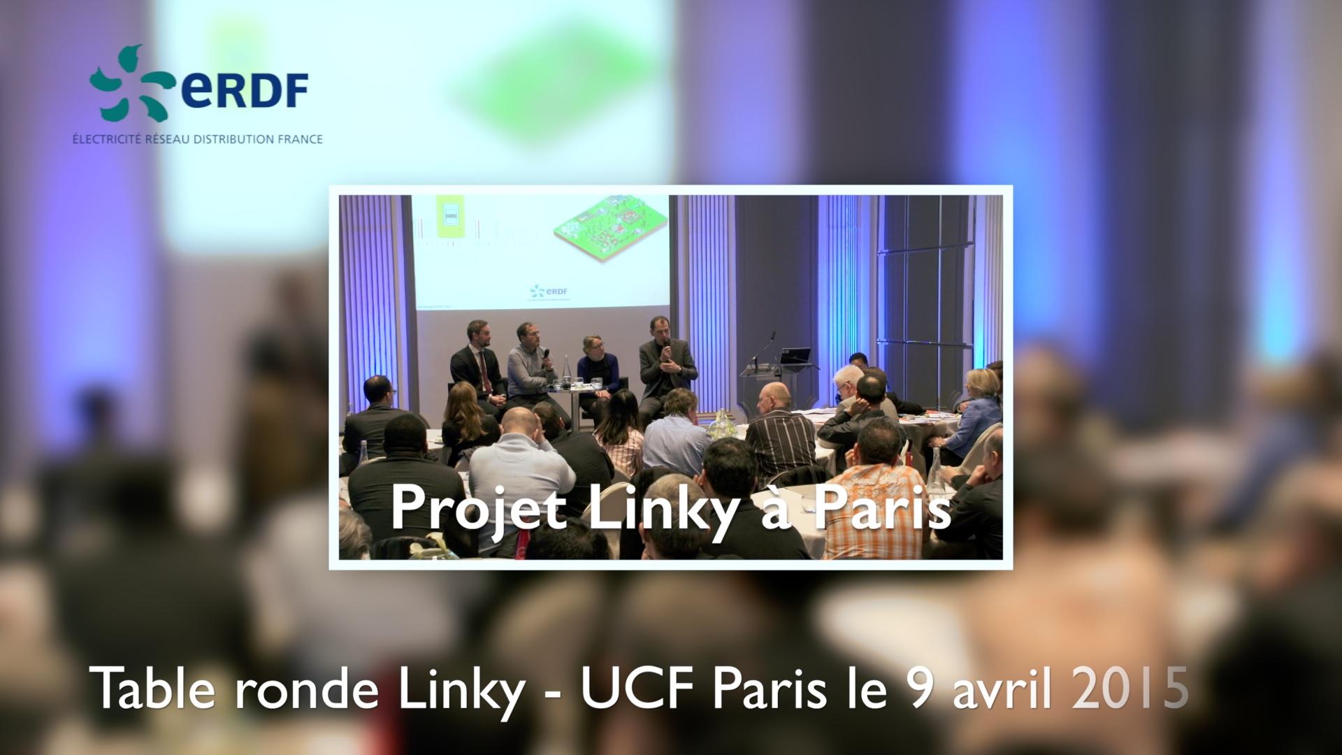 Projet Linky à Paris